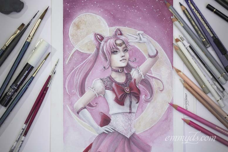 Sailor Chibi Moon finished.