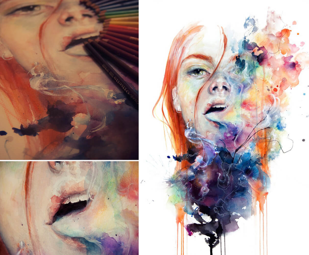 This Thing Called Art, detalhes e final [imagens do agnes-cecile.tumblr.com]